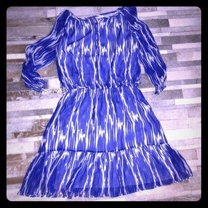 ♻️ Shoshanna Adorable Blue & White dress size 8